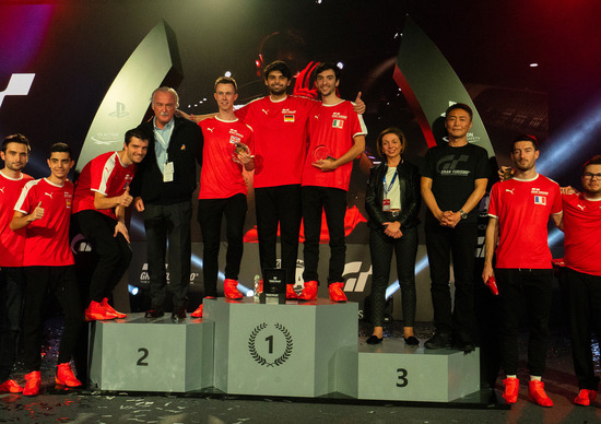 GT Sport, finale europea di Madrid: Mangano pazzesco ma non basta