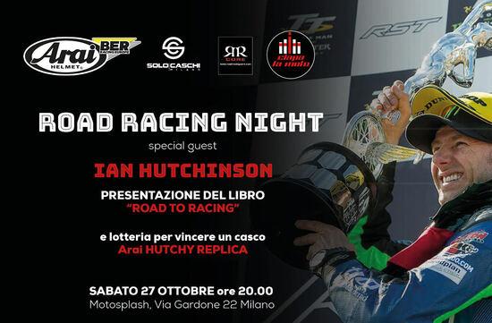 Sabato 27 ottobre da Ciapa La Moto: Road Racing Night con Ian Hutchinson