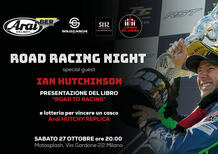 Sabato 27 ottobre da Ciapa La Moto: Road Racing Night con Ian Hutchinson