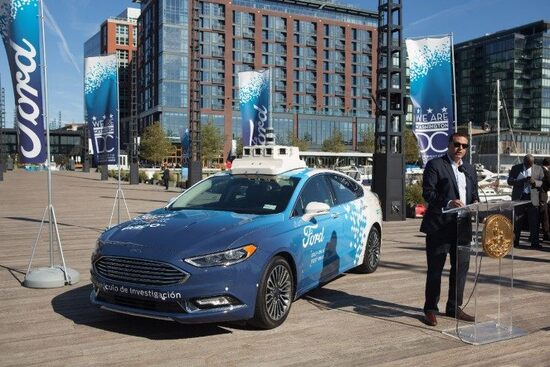 Ford a guida autonoma in quel di Washington DC