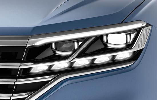 I gruppi ottici Top di gamma VW, sulla nuova Touareg