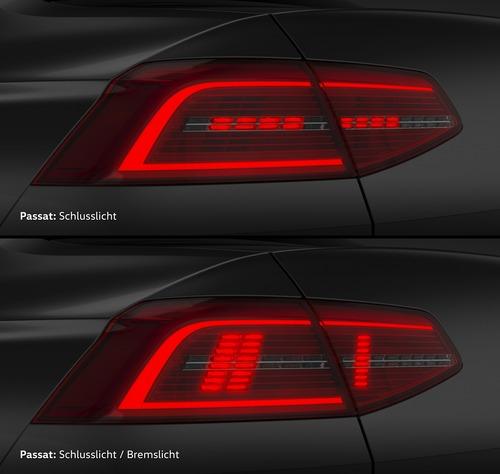 VW, Illuminazione: nuovi gruppi ottici e segnalazioni visive dell'auto (Parte3 - Video) (4)