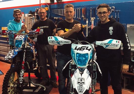 BCR Crew Project X: la preparazione della moto