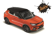 SsangYong Tivoli Juice, limited edition per Halloween