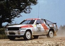 Mitsubishi Starion, la piccola sconosciuta all'assalto del Gruppo B