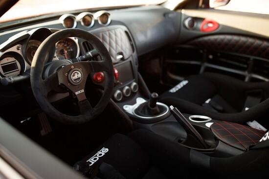 Gli interni della Nissan 370Z Project Clubsport 23