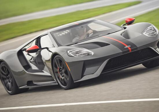 Ford GT Carbon Edition, serie speciale