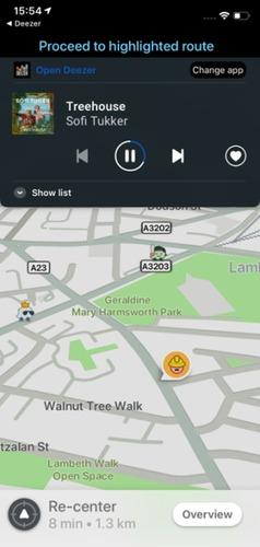 Waze, dopo Spotify in arrivo l'integrazione con Deezer e TuneIn (4)