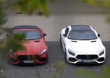 Mercedes-AMG GT 53, la sportiva si fa ibrida [Foto spia]