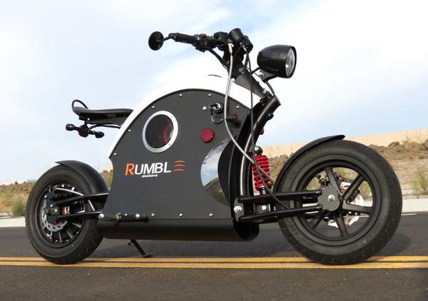 Rumble Motors. La moto elettrica col motore che ruggisce