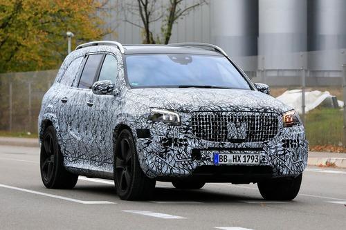 Mercedes-Maybach GLS, le foto spia (3)