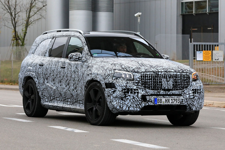 Mercedes-Maybach GLS, le foto spia