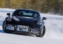 Porsche 911 992, la sportiva spremuta nei test