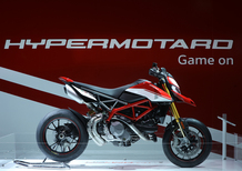 EICMA 2018: Ducati Hypemotard 950 e Hypermotard 950SP, foto, video e dati