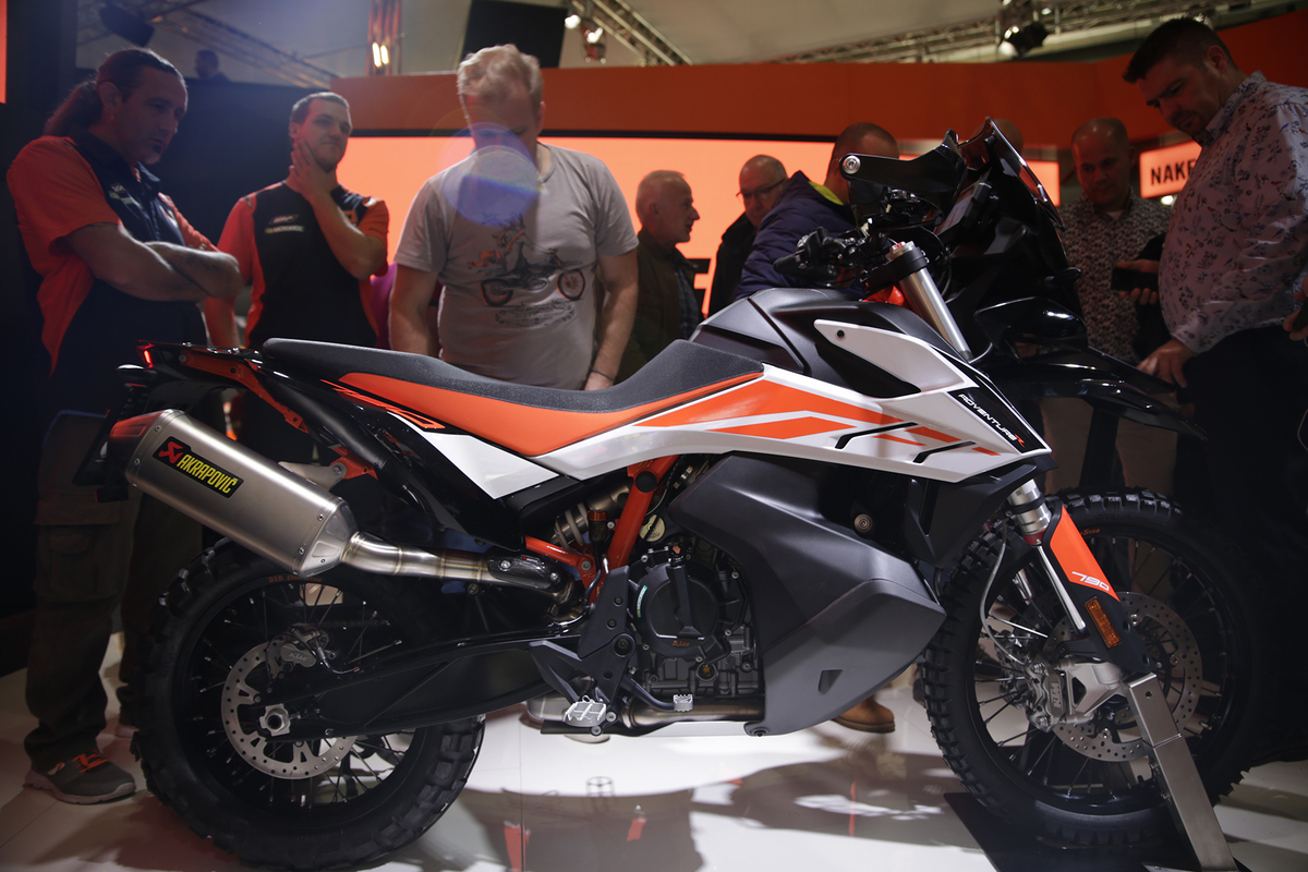 82fb2f6f2fd EICMA 2018: KTM 790 Adventure e Adventure R, foto, video e dati - Fiere e  saloni - Moto.it