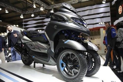 EICMA 2018: Yamaha 3CT 300 Concept