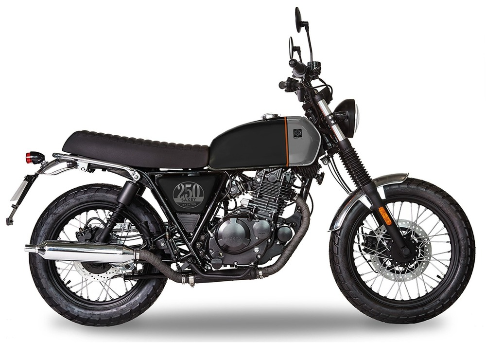 Brixton Motorcycles Saxby 250 (2019) (2)