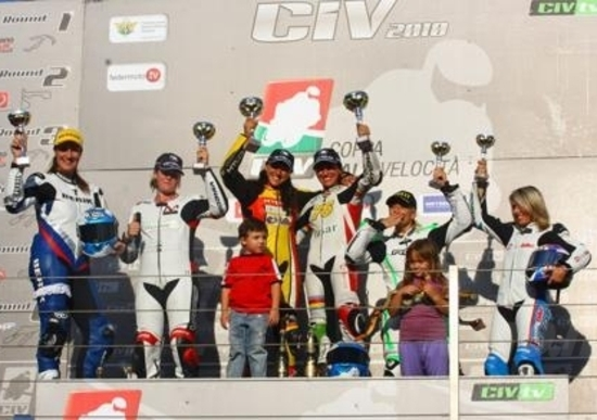 Manuela La Licata (Yamaha) ha conquistato il Trofeo Femminile FMI