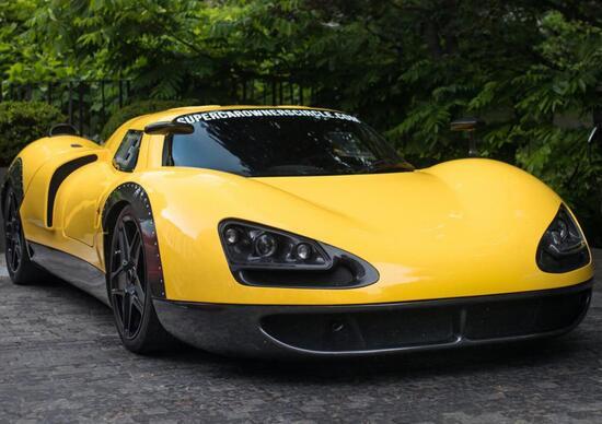 E.C. OnlyOne P8 su base Ferrari F430, in vendita per 1.2 Milioni