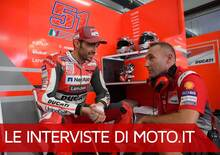 EICMA 2018. Michele Pirro e la Ducati MotoGP 2019