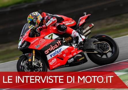 EICMA 2018. Chaz Davies e la sfida Superbike con l'inedita Ducati V4