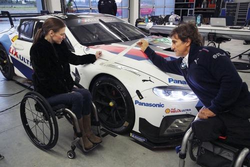 Alex Zanardi verso la 24h di Daytona 2019: completati i test sulla BMW M8 GTE (8)