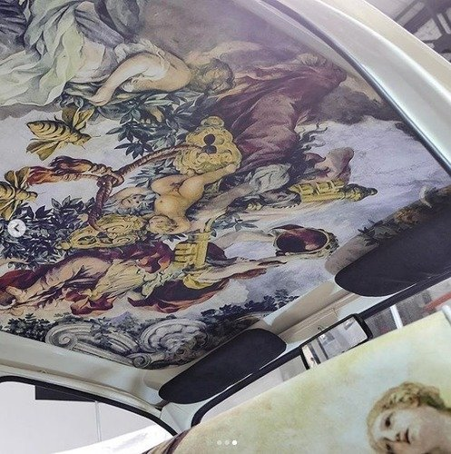 Fiat 600 Multipla by Garage Italia, un affresco sul cielo (5)