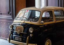 Fiat 600 Multipla by Garage Italia, un affresco sul cielo