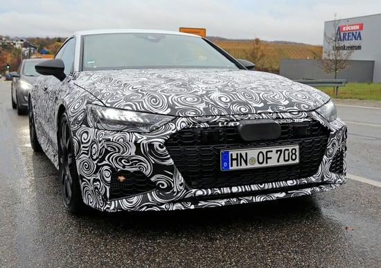 Audi Rs7 2019 Le Foto Spia News Automoto It