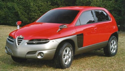 Alfa Romeo Sportut, il SUV del Biscione (mai) nato 20 anni fa