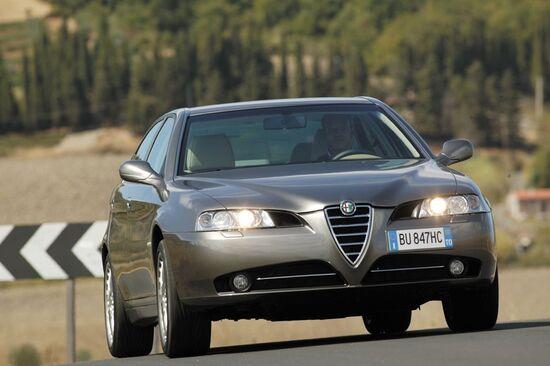 Berlina di classe Alfa 166, se è una Euro3 senza DPF la buttiamo?