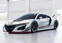 Acura NSX GT3: pronta per le corse! [Video]