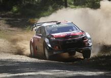 WRC 2018/Citroen. Rally Australia 1. Effetto Loeb o effetto C3 WRC? Due Citroen al comando del Rally