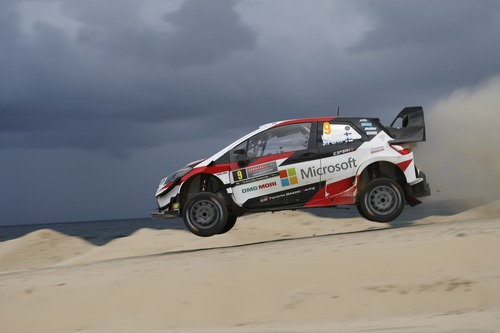 WRC18 Australia. Sébastien Ogier & Malcolm Wilson (3)