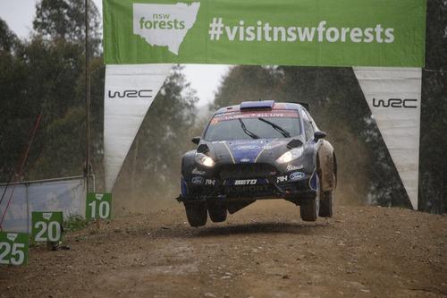 WRC18 Australia. Sébastien Ogier & Malcolm Wilson (6)