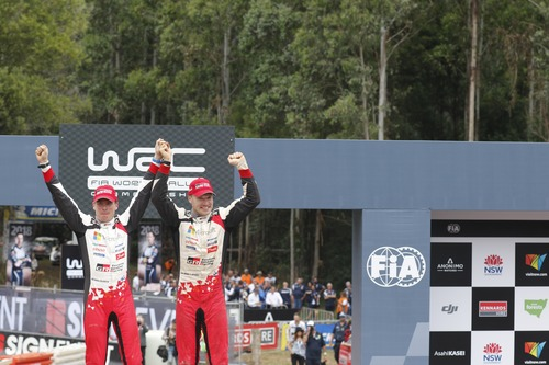 WRC18 Australia. Sébastien Ogier & Malcolm Wilson (7)