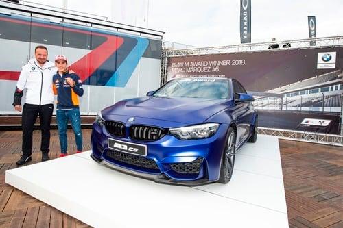 Marc Marquez vince per la 6^ volta il BMW M Award, per lui una M3 CS (3)