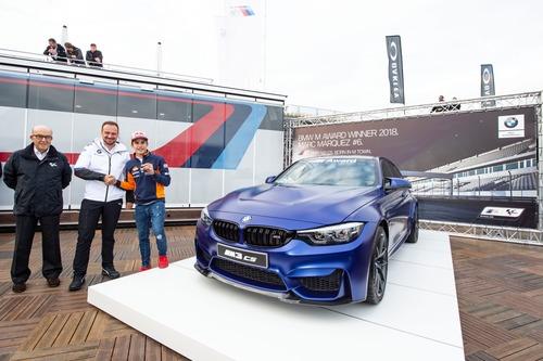 Marc Marquez vince per la 6^ volta il BMW M Award, per lui una M3 CS (4)