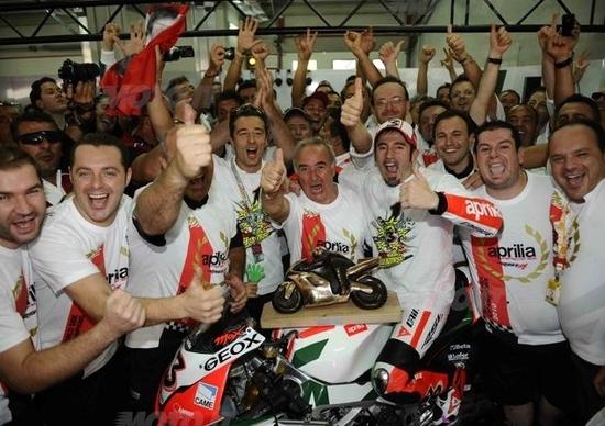 Biaggi è campione del mondo Superbike