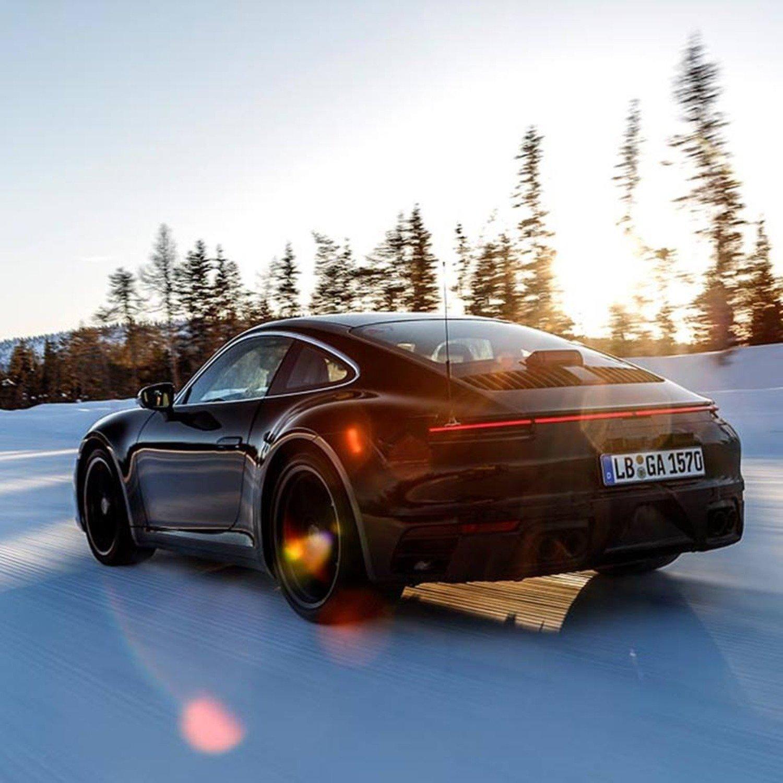 Porsche 911, l'ottava generazione al Salone di Los Angeles 2018