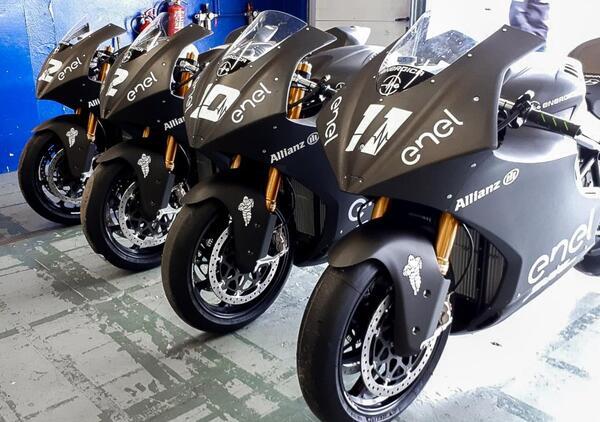 MotoE. Debutta nei test di Jerez il campionato elettrico