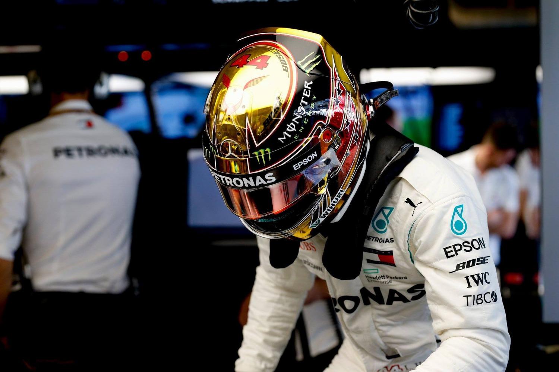 F1, GP Abu Dhabi 2018: Hamilton, solito copione