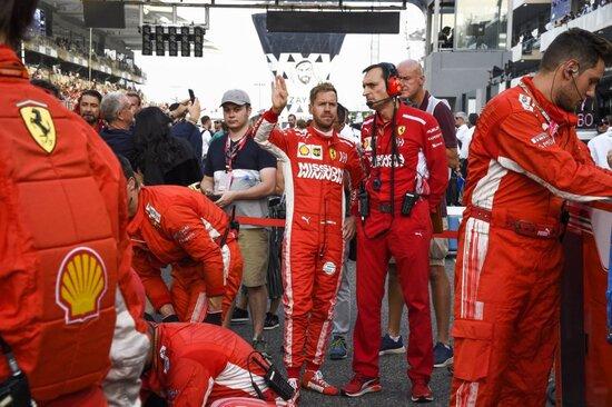 Vettel, prestazione senza infamia e senza lode ad Abu Dhabi