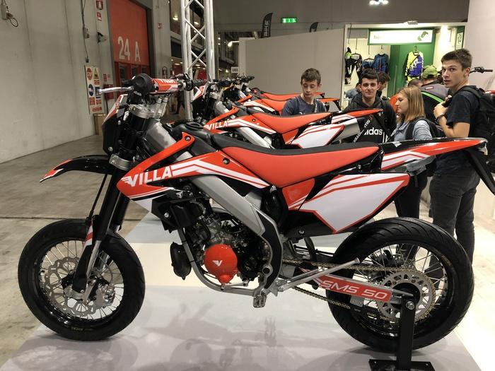 Le SMS 50 e 125 Villa Moto