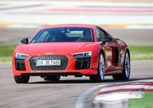 Audi Sport, in pista a Imola con RS3, RS6, RS7 e R8 [Video]