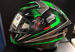 Casco Agv K5-S Hurricane Green