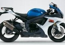 Le nuove Suzuki GSX-R 600 e GSX-R 750 2011
