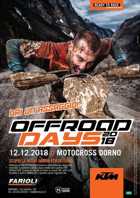 Ritornano i KTM Off-Road Days. Con Farioli e non solo