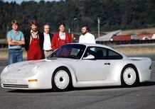 Porsche 959 e il concept per il Gruppo B