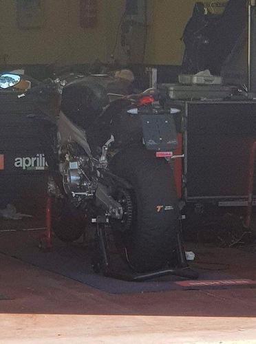 Aprilia RS 660: i prototipi in pista a Vallelunga (2)